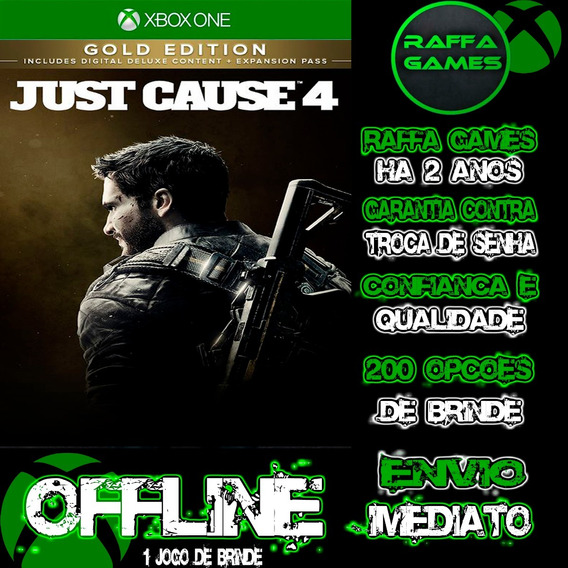 Just Cause 4 Gold Edition Xbox One Offline + Brinde