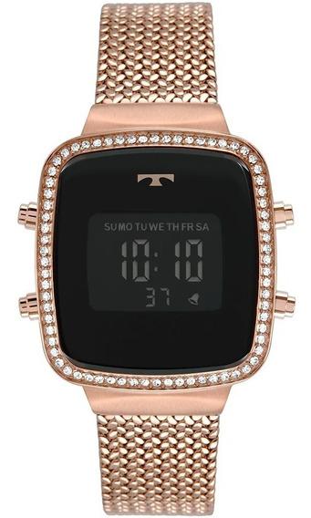 Relógio Technos Feminino Trend Rosé Digital Original C Nota