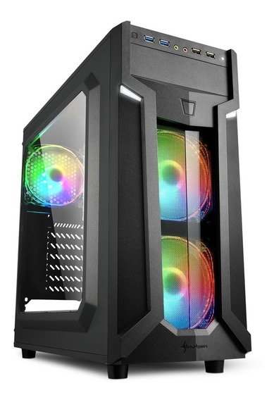 Pc Gamer Evolution Am4, Gabinete Led Rgb, Rx 550 4gb