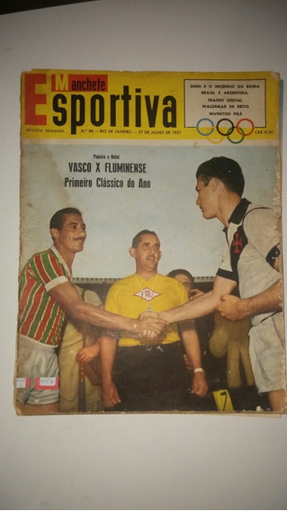 Revista Manchete Esportiva N° 88 1957