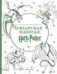 Livro Para Colorir Harry Potter - As Criaturas Mágicas