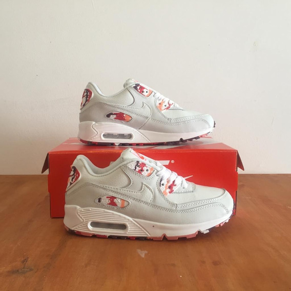 Nike Air Max 90 Leather (triple White)