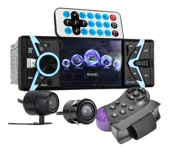 Central Multimídia Mp5 Bluetooth Tela Rádio Fm Com Camera Ré