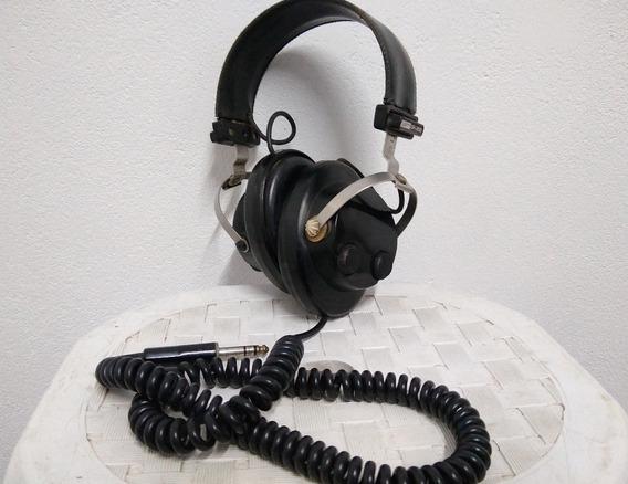 Headphone Vintage Magnovoz Dh-900 Tudo Funcionando