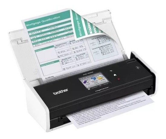 Scanner Portátil - Brother Ads - 1500w