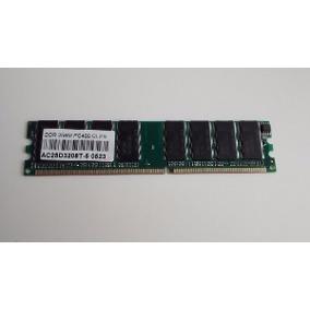 Memoria Para Computador Desktop 256mb Ddr1 400mhz Cl3