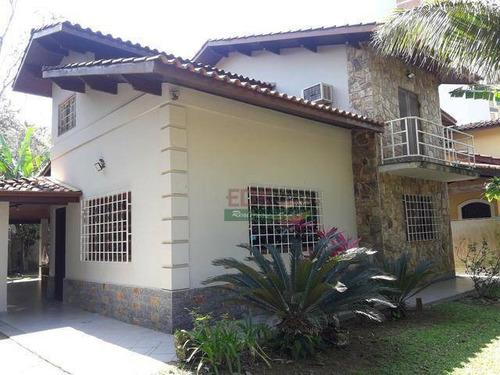 Imagem 1 de 20 de Sobrado Com 3 Dormitórios À Venda, 135 M² Por R$ 580.000 - Massaguaçu - Caraguatatuba/sp - So1710