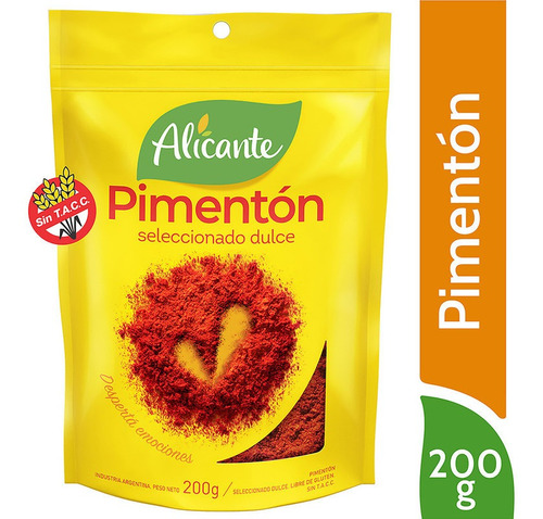 Alicante Pimenton Seleccionado Dulce X 200 Gr