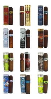 3 Perfumes Cuba 100ml A Elegir Gold,royal,winer Envío Gratis