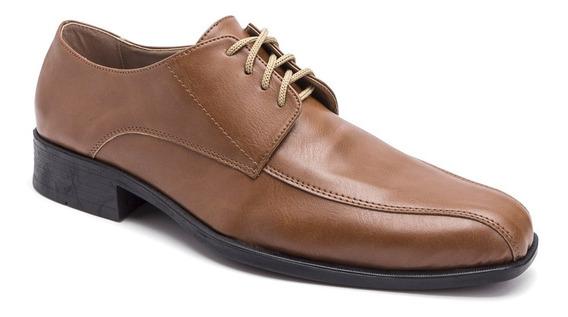 Zapatos Con Cinto Vestir Eco Cuero Negro Liso Import Usa