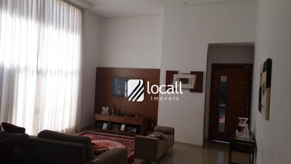 Casa Com 3 Dormitórios À Venda, 250 M² Por R$ 890.000 - Residencial Gaivota I - São José Do Rio Preto/sp - Ca2079