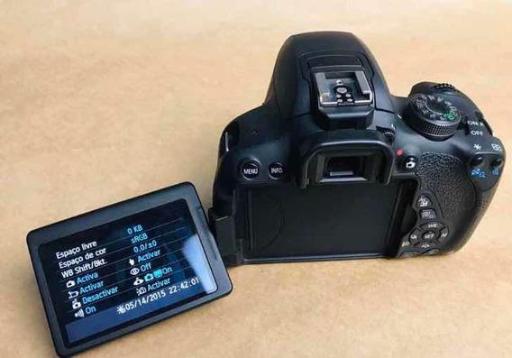 Promoção Câmera Cânon T5i