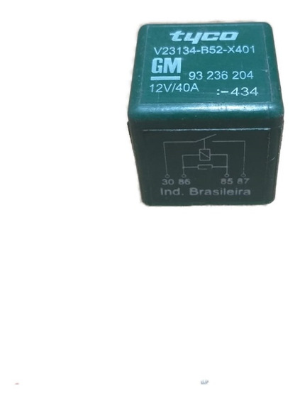 Rele Uso Geral Bomba Eletrica Gm 40a 93236204 Usado