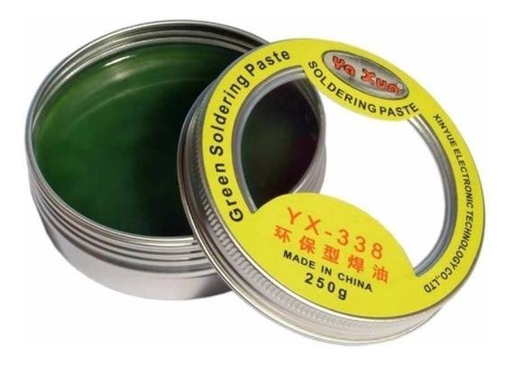 Pasta Flux Para Soldar Yaxun Yx-338 Calidad Premiun 250grs