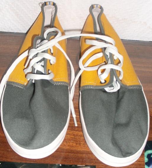 Zapatillas Amarillas Y Verdes. Nº 43. Marca Topper
