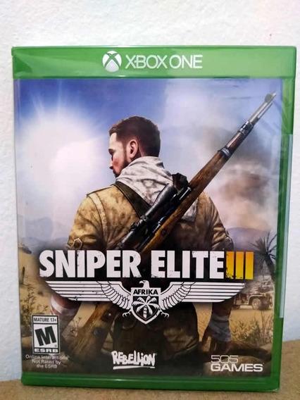 Xbox One Sniper Elite 3! Mídia Física! Novo E Lacrado