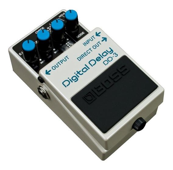 Pedal Boss Efeito Guitarra Dd-3 - Delay Digital