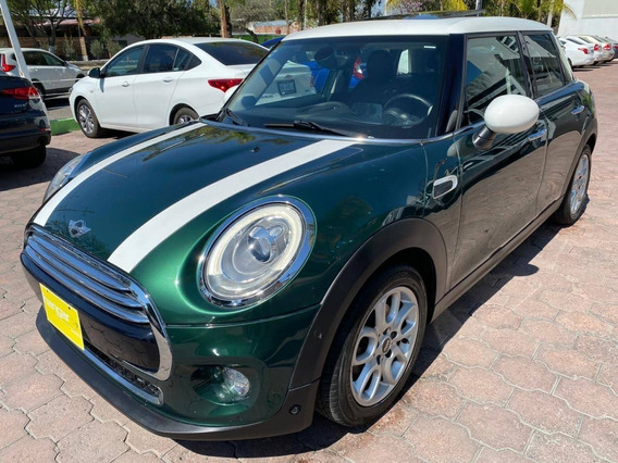 Mini Cooper 5 Puertas Pepper 2016 Verde At, Hangar Galerias