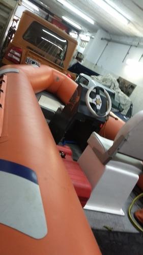 Semirrigido 430 Fishure Matriculado Motor Suzuki 40hp