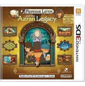 Professor Layton And The Azran Legacy Semi-novo 3ds
