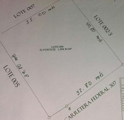 Terreno En Venta Con Excelente Ubicación En Avenida Tulum, Q.roo