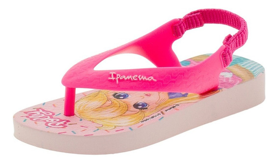 Chinelo Infantil Baby Polly E Max Steel Ipanema - 26349 Rosa