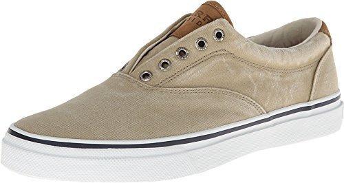 Sperry, Zapato Nautico Para Hombre Con Lavado De Sal Stripe
