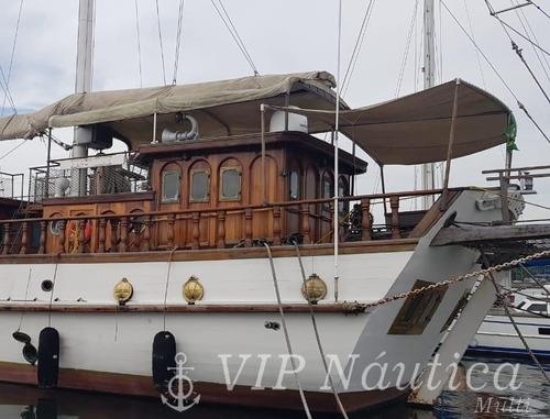Veleiro 113 Pés | 7 Suites | 1987 - Barco A Vela