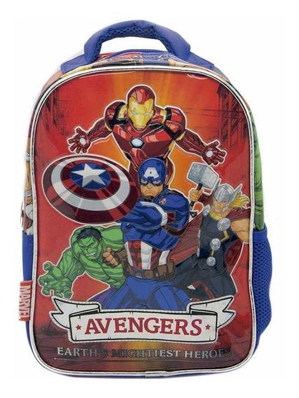 Mochila Infantil 12 Pulgadas Superheroes Avengers V. Modelos