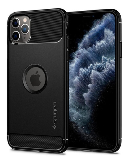Funda iPhone 11 Pro Rugged Armor Spigen