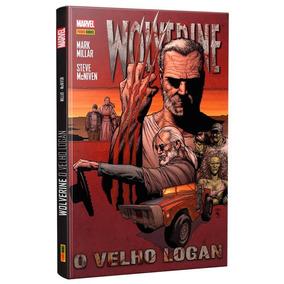 Hq Marvel Capa Dura Wolverine O Velho Logan Panini Books