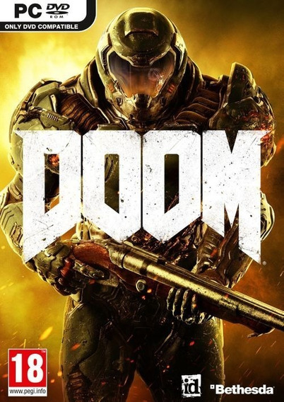 Doom Pc Steam Key Código 15 Dígitos