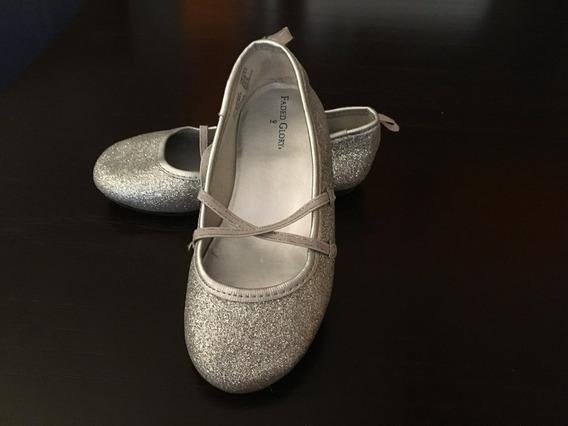 Balerinas Plateadas Para Tu Princesa !!!!