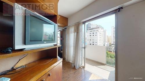 Imagem 1 de 20 de Flat Para Venda, 1 Dormitórios, Pinheiros - São Paulo - 3500