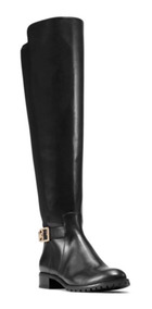 Botas Michael Kors Café Y Negra Arley Riding Boots