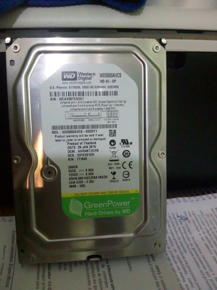 Hd 500 Gb - Green Power