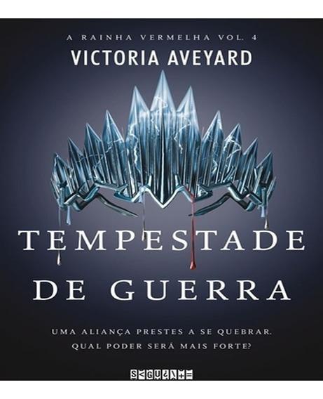 Livro Série A Rainha Vermelha Tempestade De Guerra - Vol 04