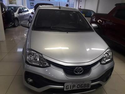 Toyota/etios Paltinum 1.5 2017 Completo