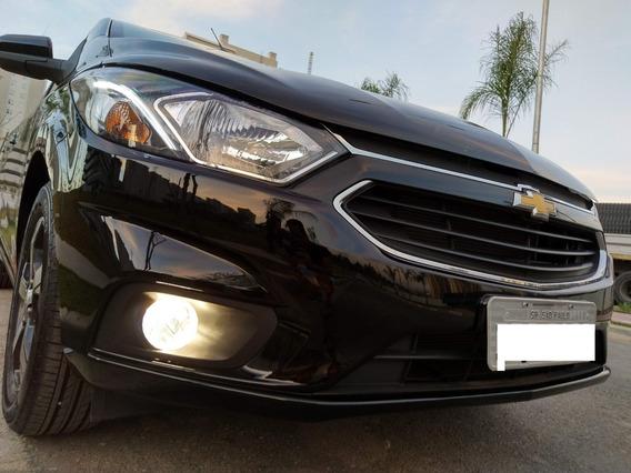 Chevrolet Onix Ltz 2019 Preto At6 Novissimo