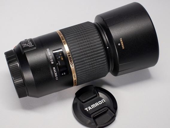 Lente Tamron Sp 90mm F2.8 Di Macro Usd Para Sony Alpha