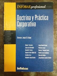 Doctrina Y Práctica Corporativa - Infobae
