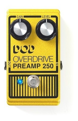 Pedal Dod Overdrive Preamp 250