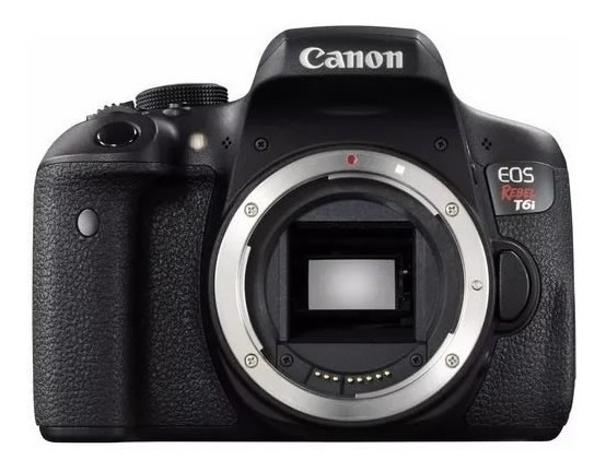 Câmera Canon Eos Rebel T6i (apenas Corpo) 24.2mp 12x S/juros