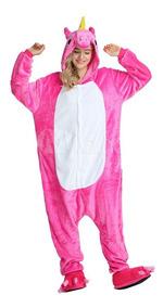 Unicórnio Pijama Macacão Kigurumi Cosplay Panda Colorido