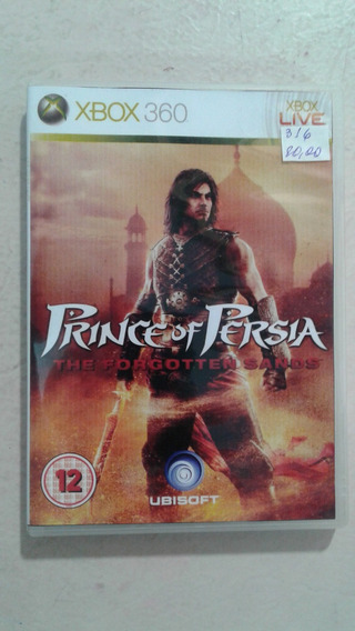 Prince Of Persia The Forgetten Sands Xbox 360 Mídia Física