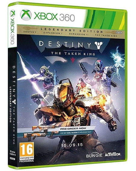 Destiny The Taken King Ediç. Lendária Xbox 360 ** Deslacrado