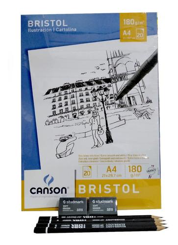 Kit De Dibujo Canson + Lyra