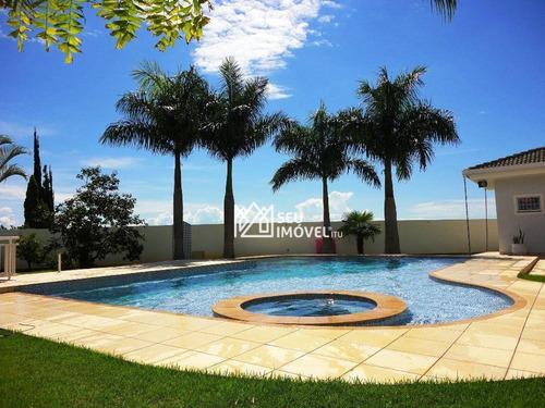 Imagem 1 de 30 de Casa Com 5 Dormitórios À Venda, 432 M² Por R$ 2.300.000,00 - Condomínio Village Castelo - Itu/sp - Ca1518