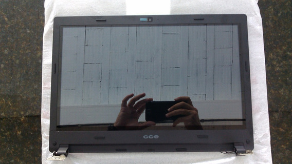 Carcaça Tela+tela Touch+lcd Ultra Thin Ht345 Cce Original