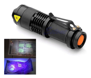 Lanterna Led Luz Ultravioleta Led Luz Negra Uv Blacklight